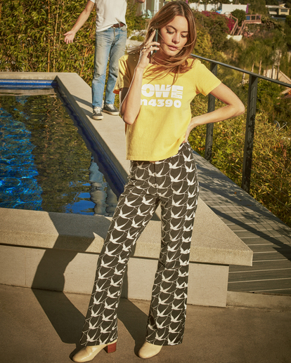 0 Camille Rowe | Livin Corduroy Pants Black AVJDP00106 RVCA