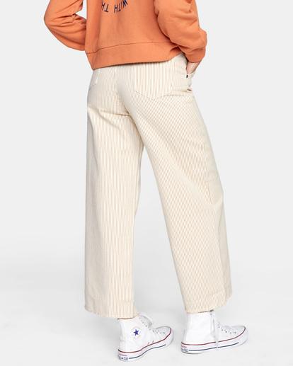 5 Fresh Prince Cropped Corduroy Pants Yellow AVJDP00107 RVCA