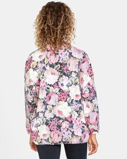 3 Rosebud Fleece Pullover  AVJFT00120 RVCA