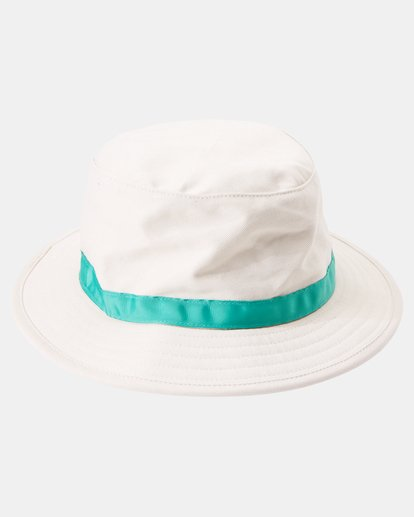 5 Camille Rowe | Camille Bucket Hat White AVJHA00115 RVCA