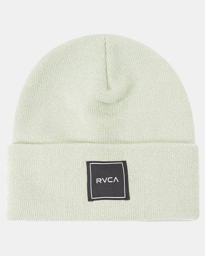 4 Essential Beanie Green AVJHA00117 RVCA