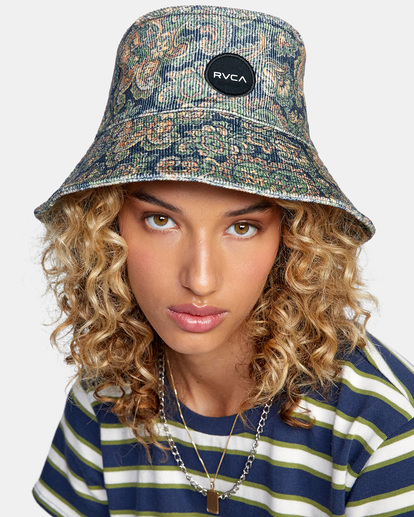 0 Low Down Bucket Hat Blue AVJHA00118 RVCA