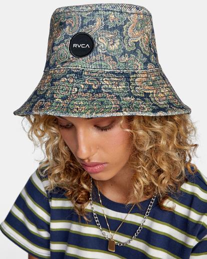 2 Low Down Bucket Hat Blue AVJHA00118 RVCA