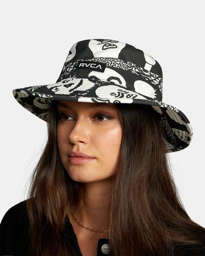 2 Two Faced Bucket Hat  AVJHA00119 RVCA