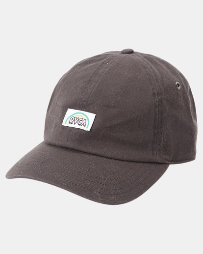 5 Camille Rowe | Camille Dad Hat Black AVJHA00121 RVCA