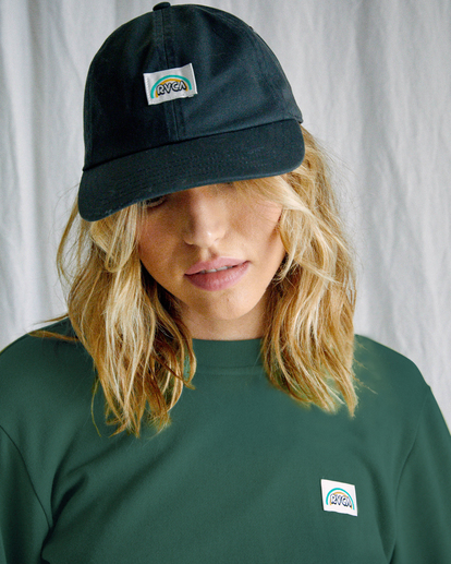 0 Camille Rowe | Camille Dad Hat Black AVJHA00121 RVCA