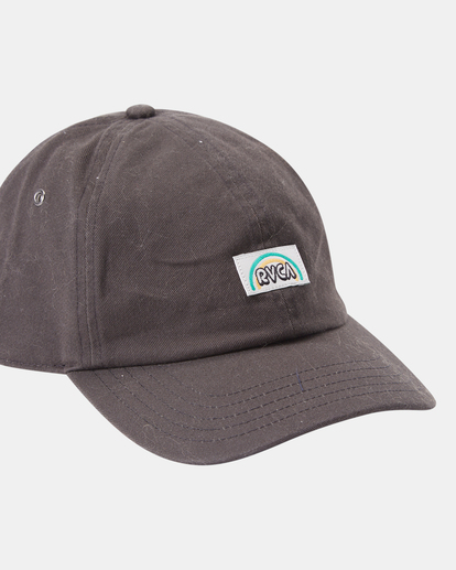 3 Camille Rowe | Camille Dad Hat Black AVJHA00121 RVCA