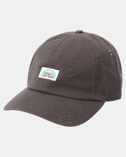 1 Camille Rowe | Camille Dad Hat Black AVJHA00121 RVCA