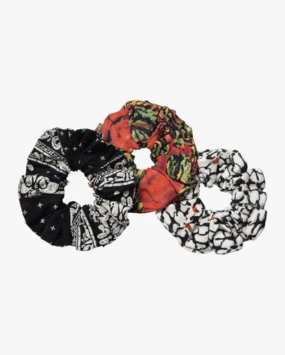 4 Scrunchie 3 Pack Multicolor AVJHW00104 RVCA