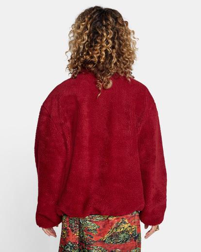 1 Savage Zip-Up Jacket Multicolor AVJJK00124 RVCA
