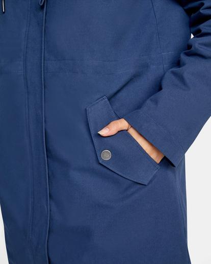 7 Green Valley Parka Jacket Blue AVJJK00127 RVCA