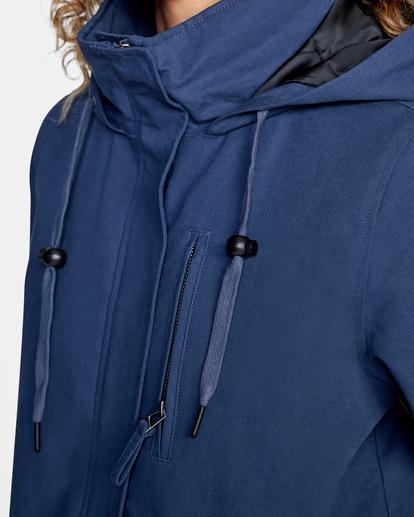 9 Green Valley Parka Jacket Blue AVJJK00127 RVCA