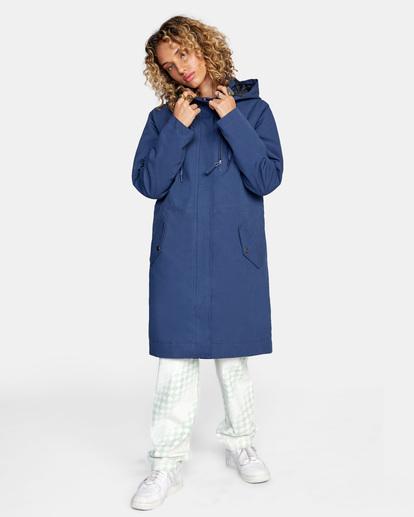 1 Green Valley Parka Jacket Blue AVJJK00127 RVCA