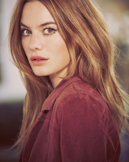 1 Camille Rowe | Paradis Coat Brown AVJJK00131 RVCA