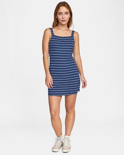 2 NOBODY'S BABE DRESS Blue AVJKD00109 RVCA