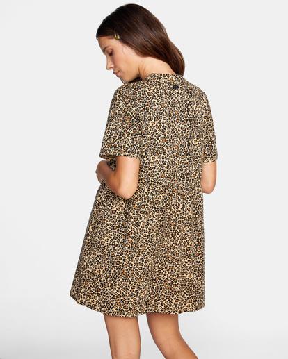 5 City Vibes Mini Dress Beige AVJKD00122 RVCA