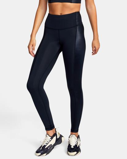 0 Mystique Sport Legging Black AVJNP00124 RVCA