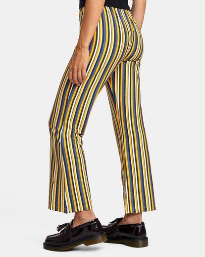 5 Kickback Pant Yellow AVJNP00127 RVCA