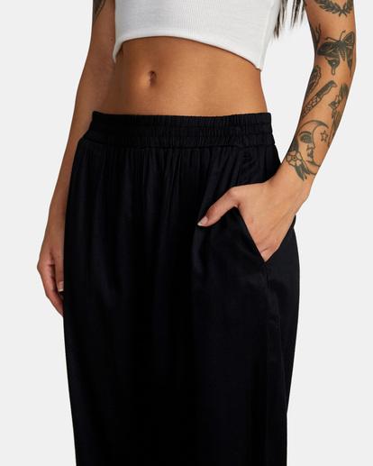 2 New Yume Beach Pants Black AVJNP00131 RVCA