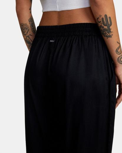 7 New Yume Beach Pants Black AVJNP00131 RVCA