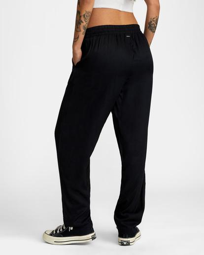 5 New Yume Beach Pants Black AVJNP00131 RVCA