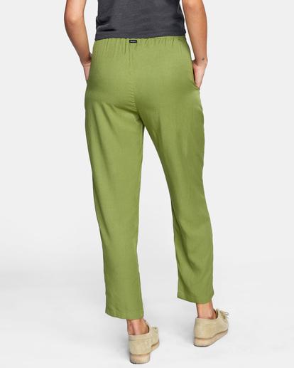 1 New Yume Beach Pants Green AVJNP00131 RVCA