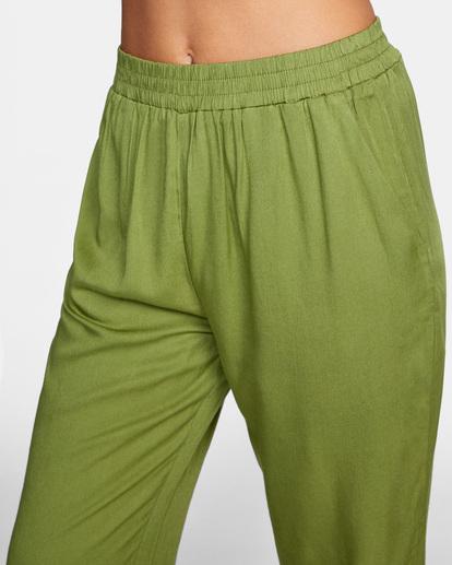 2 New Yume Beach Pants Green AVJNP00131 RVCA
