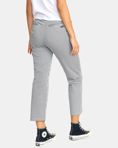 5 Weekend Stretch Chino Pants Black AVJNP00132 RVCA