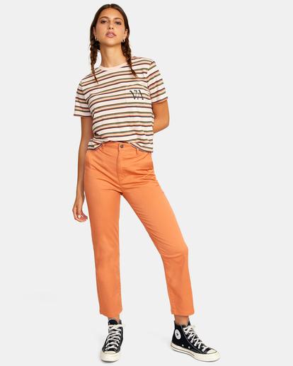 3 Weekend Stretch Chino Pants Multicolor AVJNP00132 RVCA