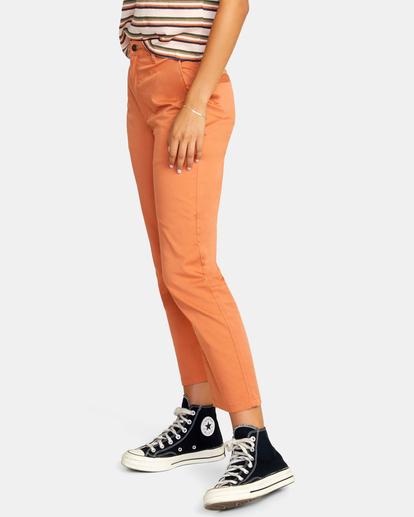 4 Weekend Stretch Chino Pants Multicolor AVJNP00132 RVCA