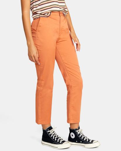 6 Weekend Stretch Chino Pants Multicolor AVJNP00132 RVCA