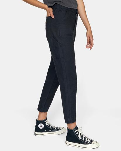 5 Recession Chino Pants White AVJNP00138 RVCA