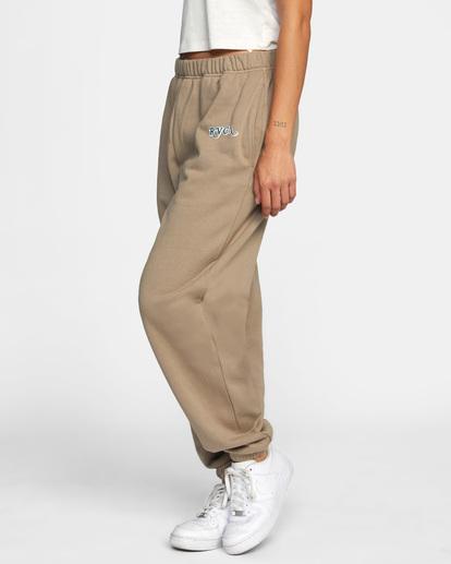 4 Retro Sweatpants Grey AVJNP00139 RVCA