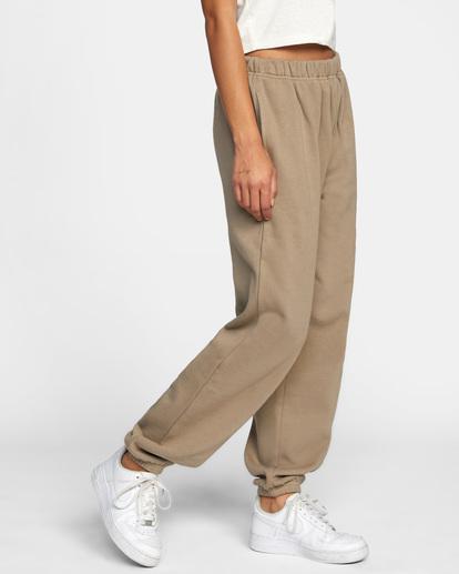 5 Retro Sweatpants Grey AVJNP00139 RVCA