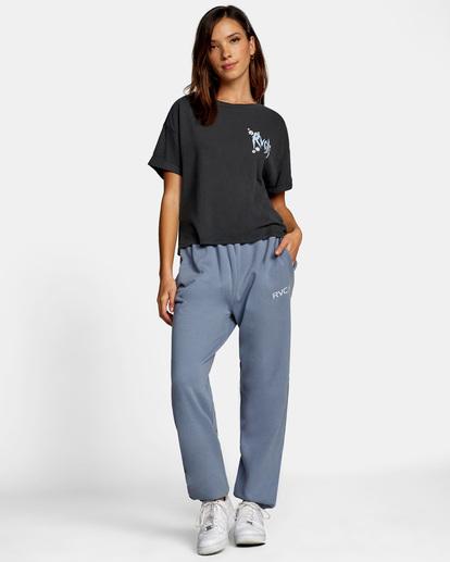 3 Little RVCA Sweatpants Blue AVJNP00140 RVCA