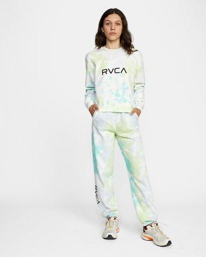 2 WoBig RVCA Sweatpant Green AVJNP00153 RVCA