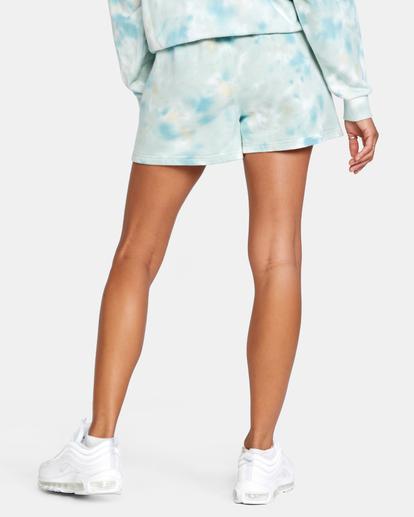 1 Hustle Shorts Blue AVJNS00120 RVCA