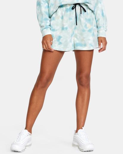 0 Hustle Shorts Blue AVJNS00120 RVCA