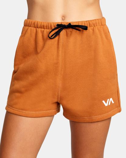 2 Hustle Shorts Brown AVJNS00120 RVCA