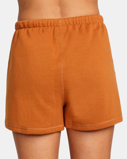 7 Hustle Shorts Brown AVJNS00120 RVCA