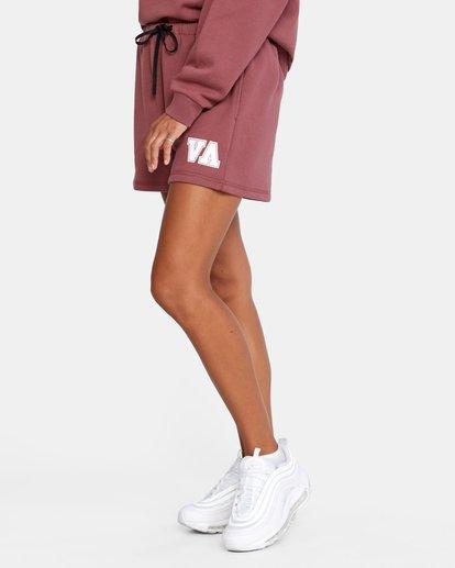 3 Hustle Shorts White AVJNS00120 RVCA