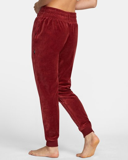 5 DAY OFF SWEATPANT Red AVJPT00100 RVCA
