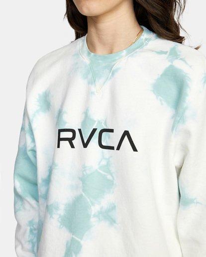 6 BIG RVCA CREW Blue AVJSF00186 RVCA