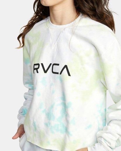 5 BIG RVCA CREW Green AVJSF00186 RVCA
