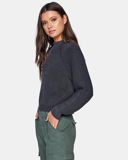 4 New Wave Knit Sweater White AVJSW00123 RVCA