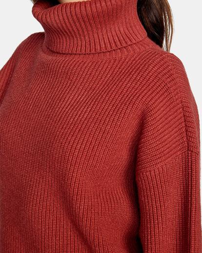 3 Citizen Turtleneck Sweater Multicolor AVJSW00124 RVCA