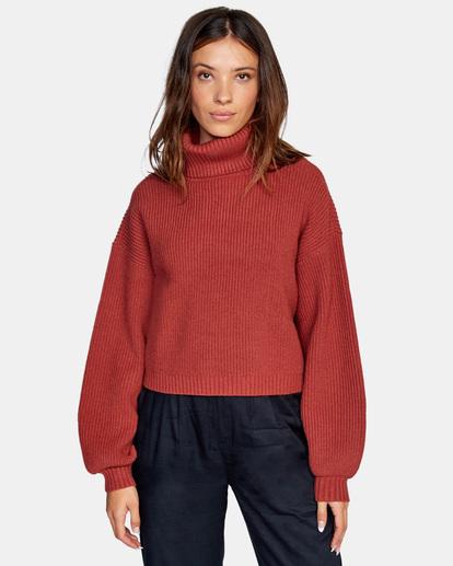 1 Citizen Turtleneck Sweater Multicolor AVJSW00124 RVCA