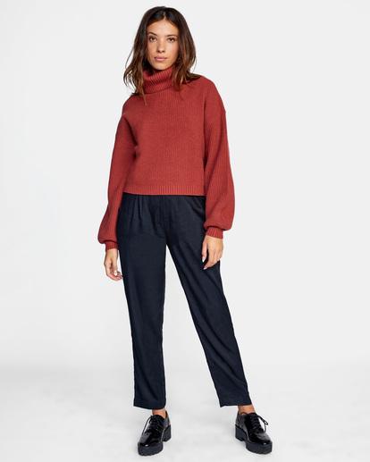 4 Citizen Turtleneck Sweater Multicolor AVJSW00124 RVCA