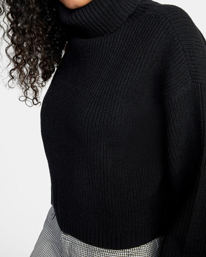 2 Citizen Turtleneck Sweater White AVJSW00124 RVCA