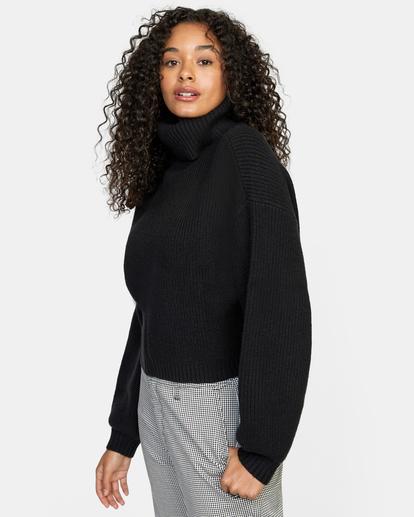 4 Citizen Turtleneck Sweater White AVJSW00124 RVCA